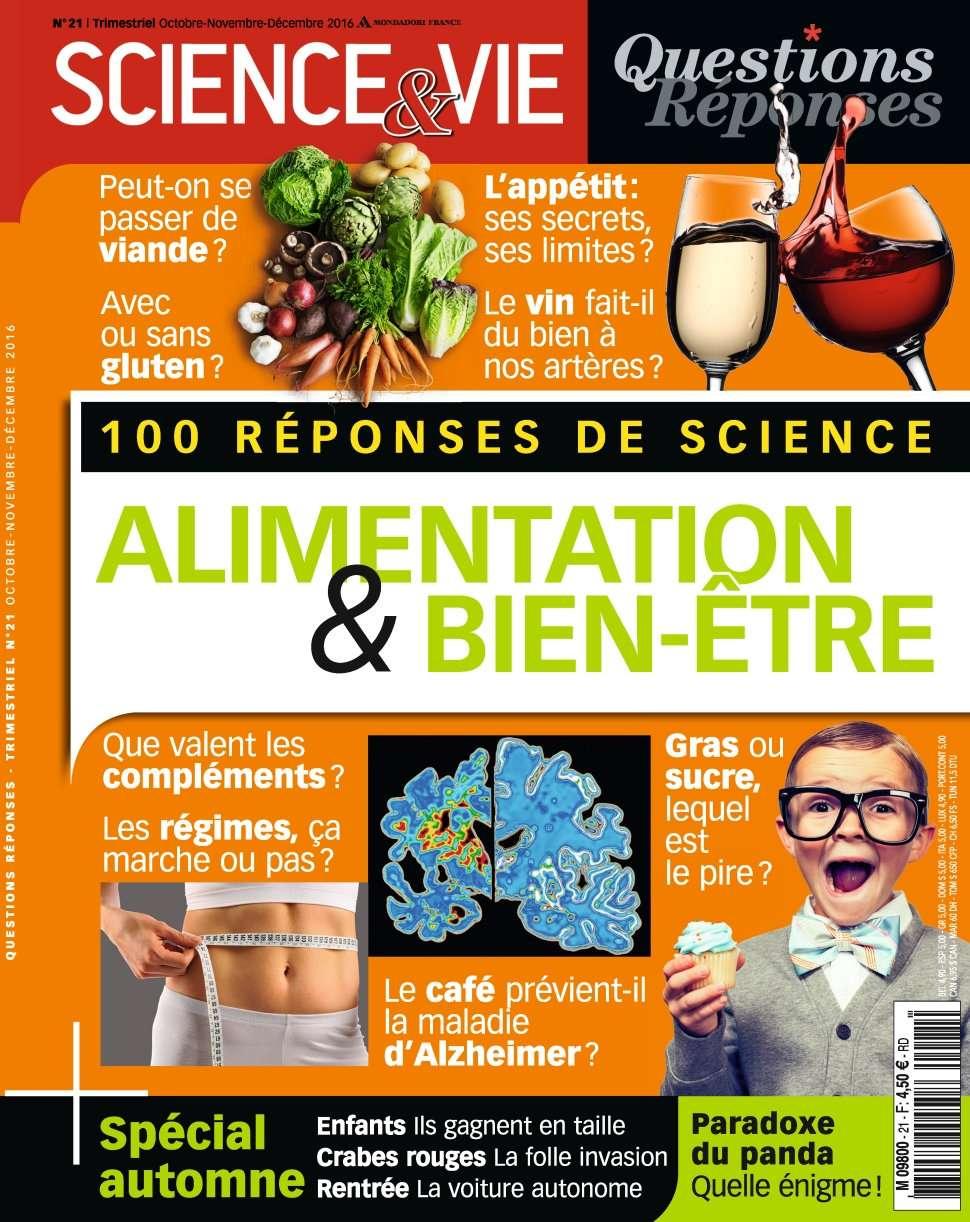 Science & Vie Questions Réponses 21 - Octobre/Decembre 2016
