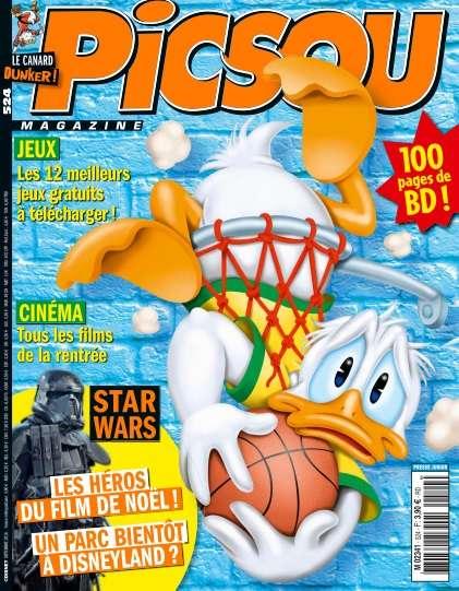 Picsou Magazine 524 - Septembre 2016