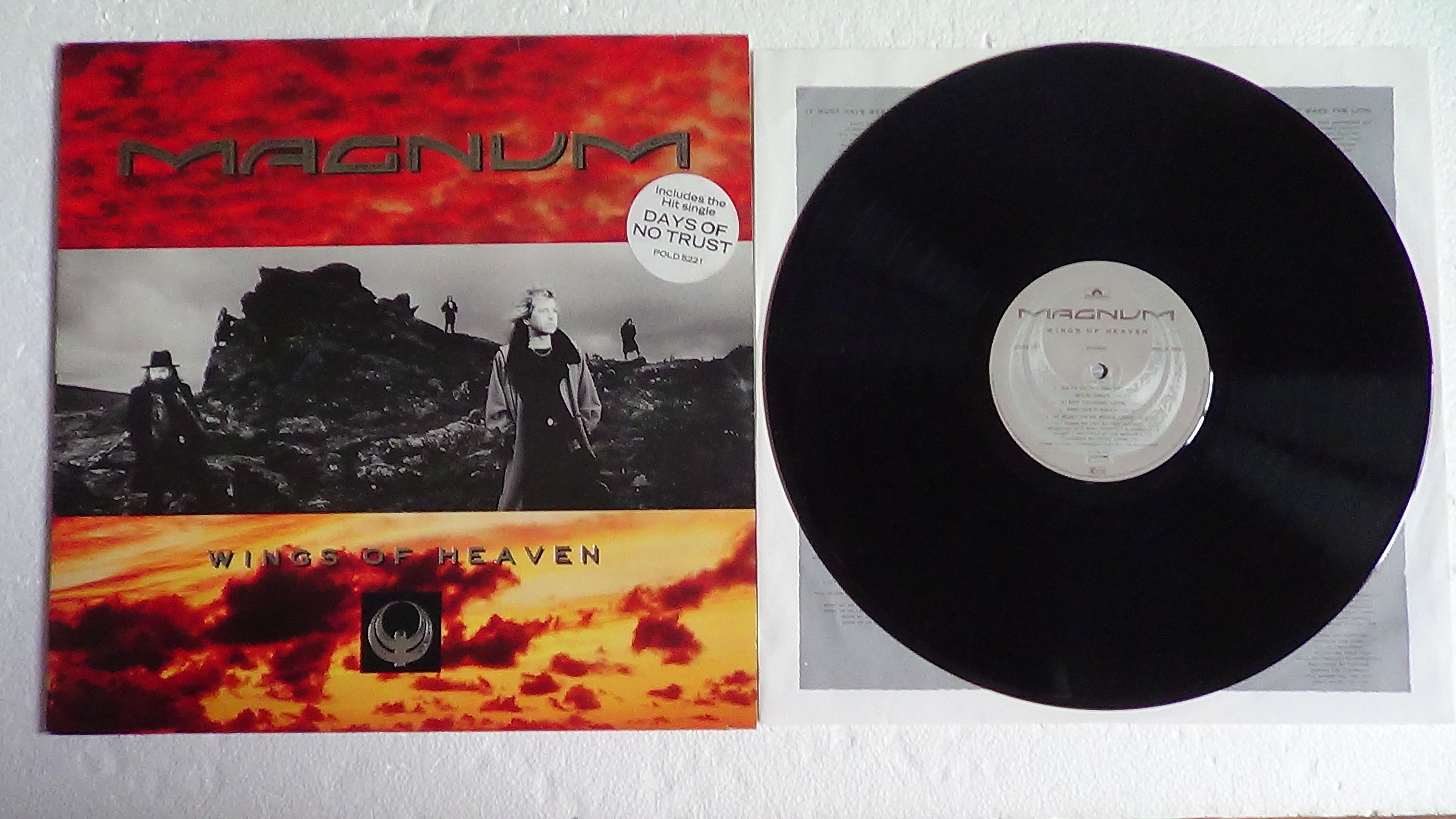 Magnum - Wings Of Heaven Record