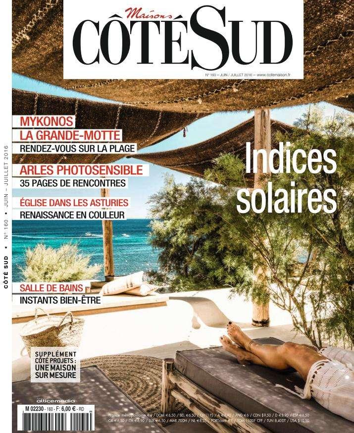 Maisons Côté Sud 160 - Juin-Juillet 2016