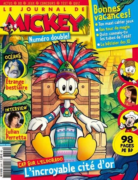 Le Journal de Mickey - 24 Août 2016