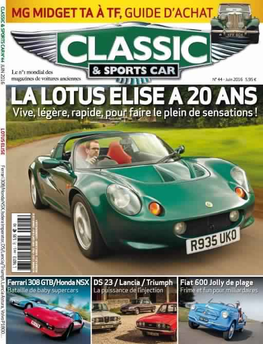 Classic & Sports Car 44 - Juin 2016