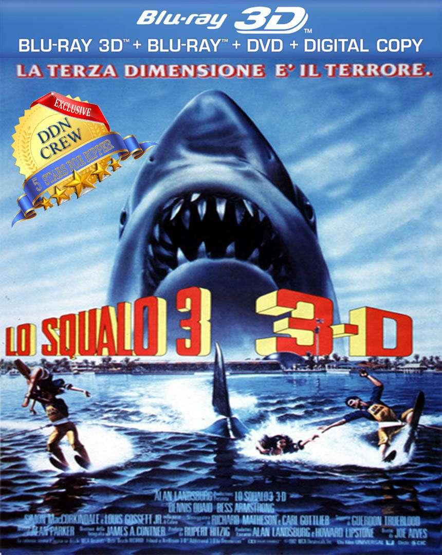 Lo squalo 3 (1983) ISO BDRA BluRay 2D 3D AVC AC3 Resync ITA DTSHD ENG - DDN
