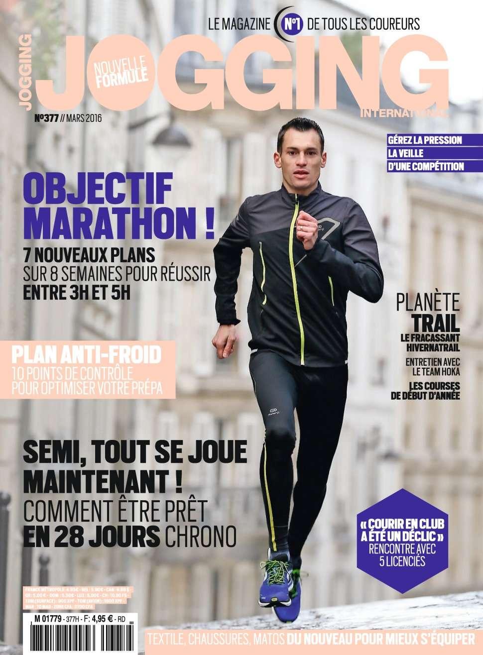 Jogging International 377 - Mars 2016