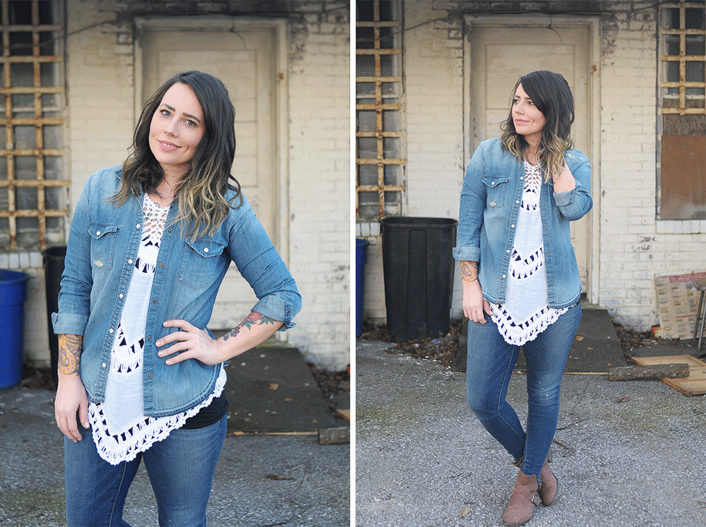 What I Wore Canadian Tuxedo - How To Wear Denim on Denim