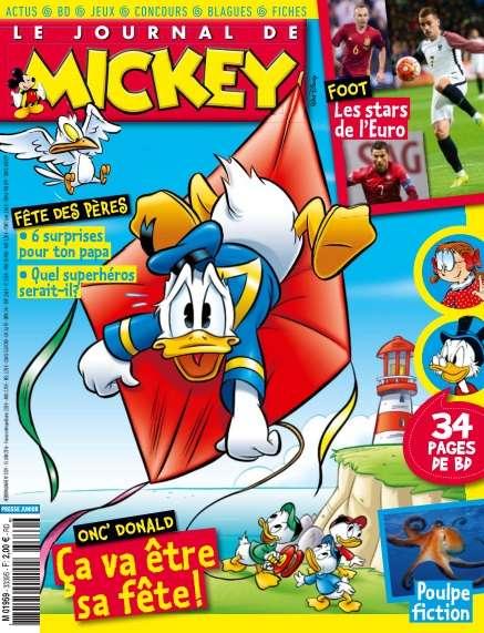 Le Journal de Mickey - 15 au 21 Juin 2016