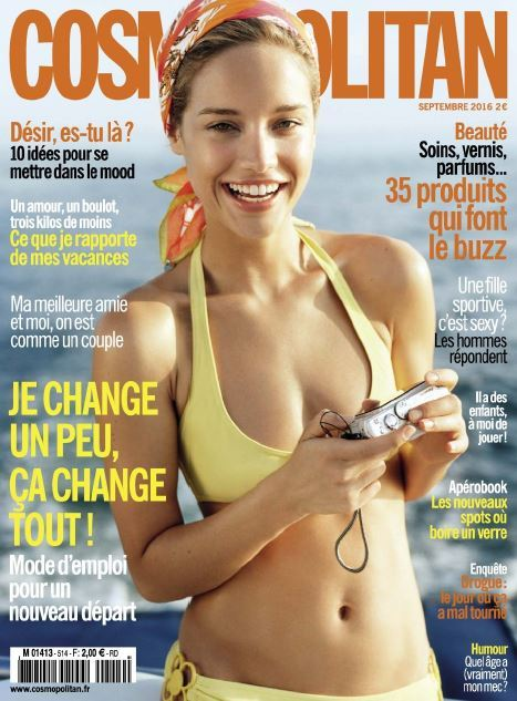 Cosmopolitan France - Septembre 2016