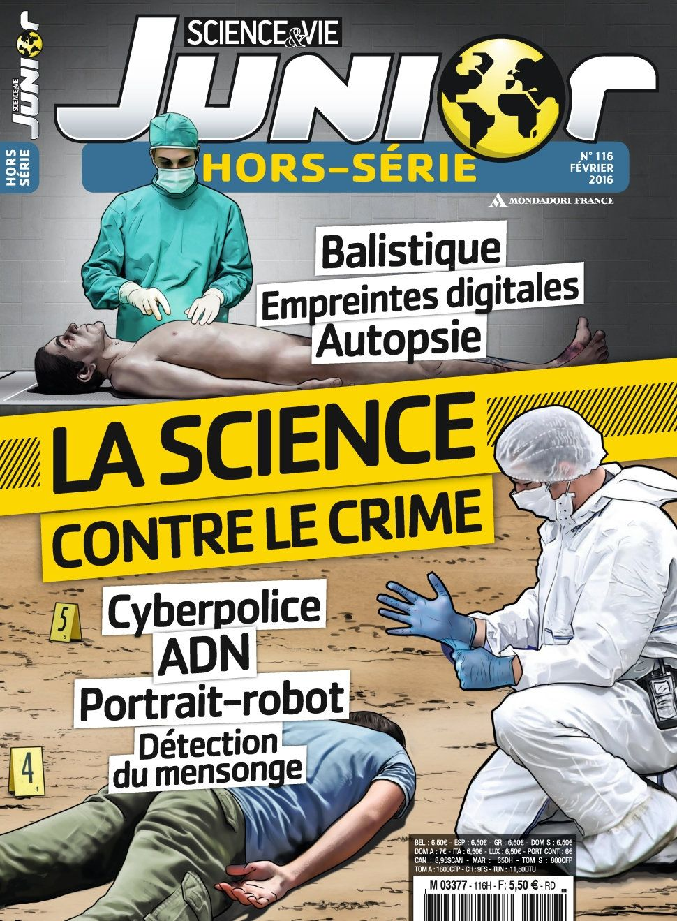 Science & Vie Junior Hors-Série 116 - Fevrier 2016