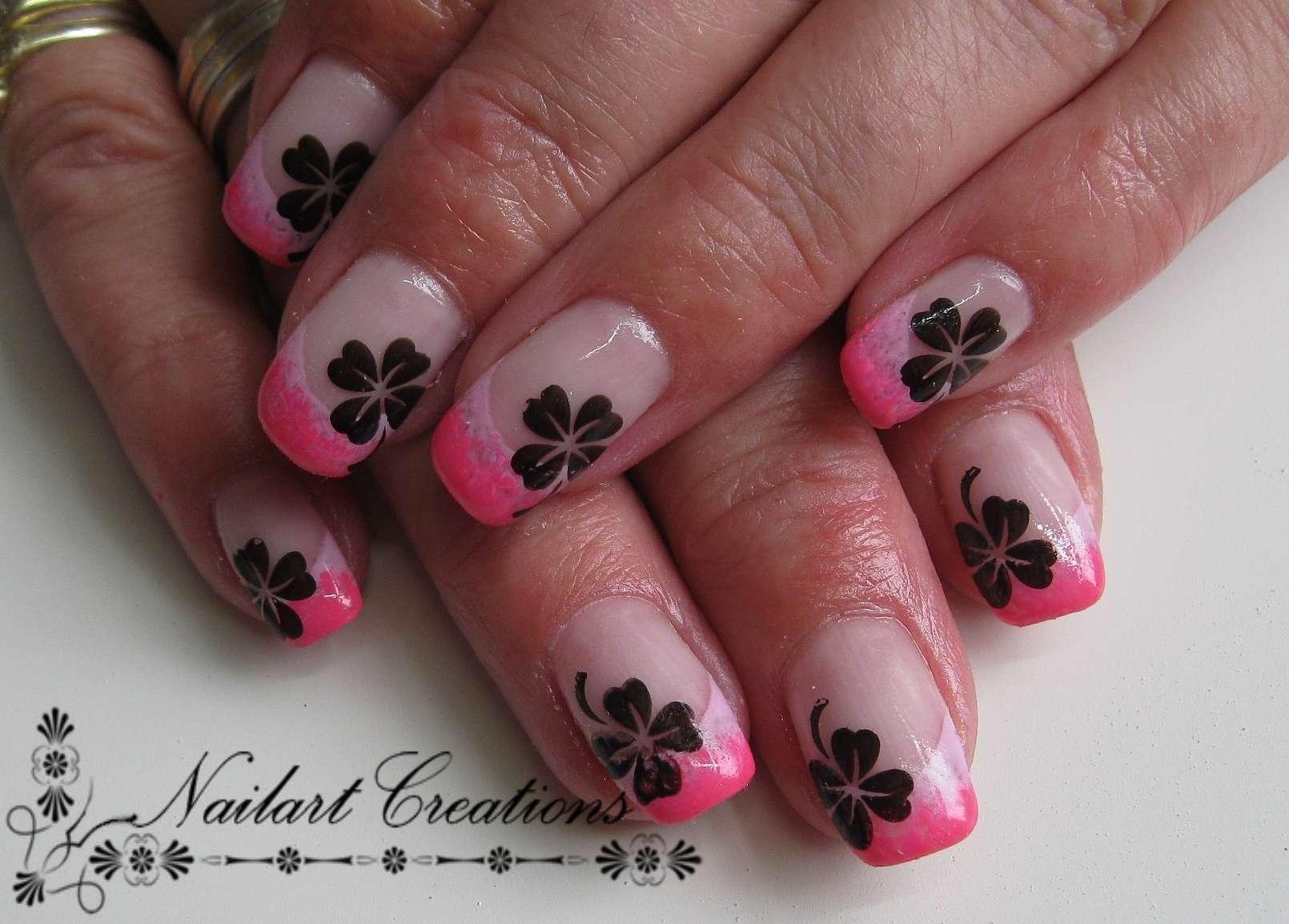 Nailart Creations: [Gelnagels] Lucky Nails