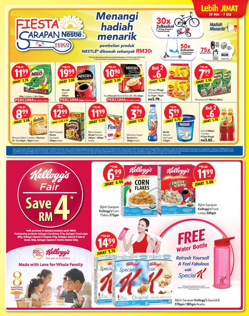 Tesco Malaysia Weekly Catalogue (24 November - 30 November 2016)