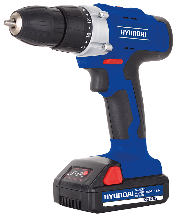 """Taladro Atornillador Hyundai HYTA144 14.4V 3/8"""""""