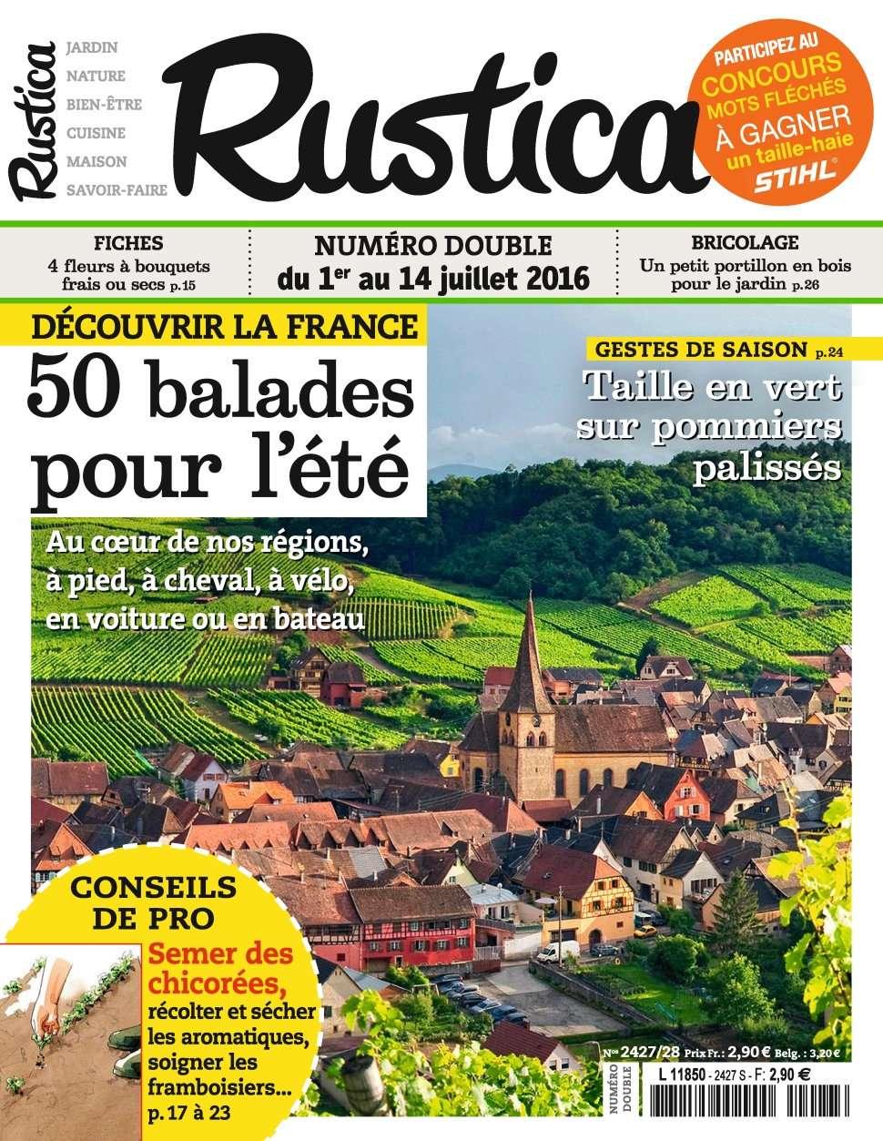 Rustica 2428 - 1 au 7 Juillet 2016