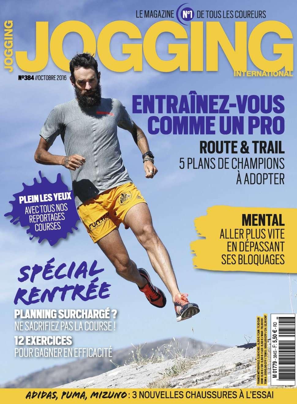 Jogging International 384 - Octobre 2016