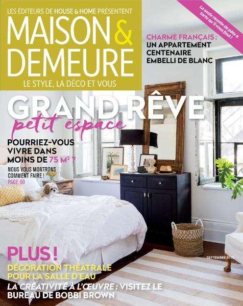 Maison & Demeure - Septembre 2016