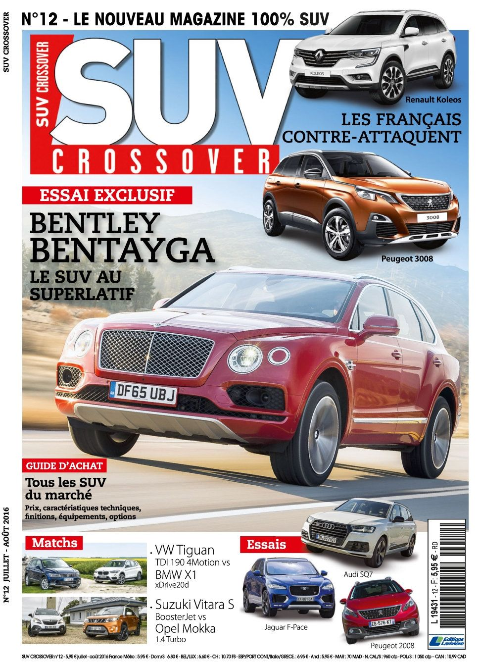 Suv Crossover 12 - Juillet/Aout