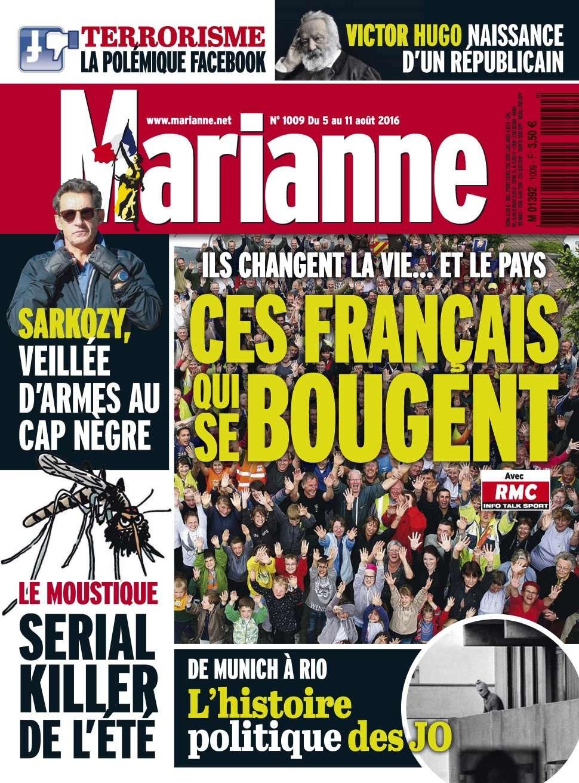 Marianne 1009 - 05 au 11 Août 2016