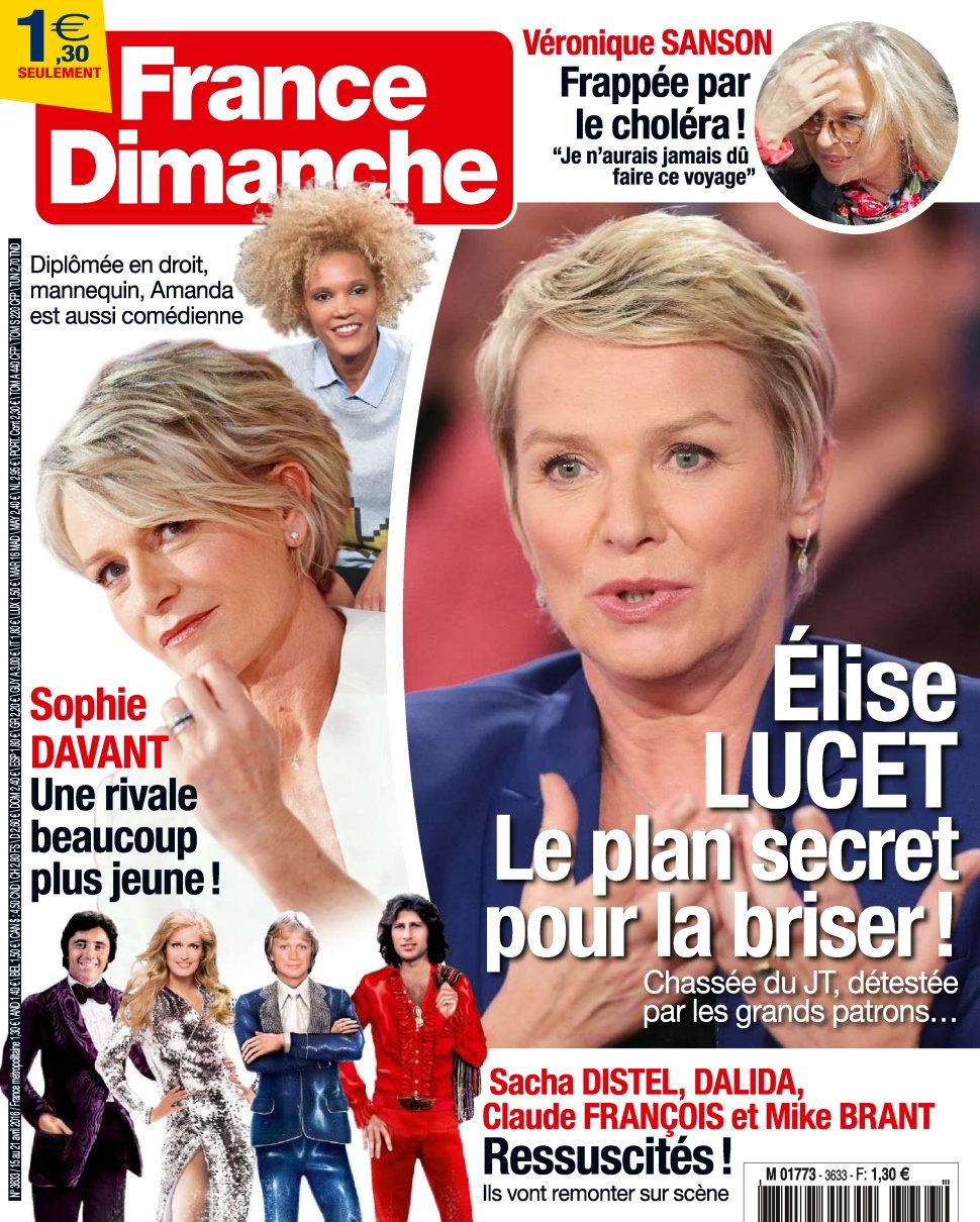 France Dimanche 3633 - 15 au 21 Avril 2016