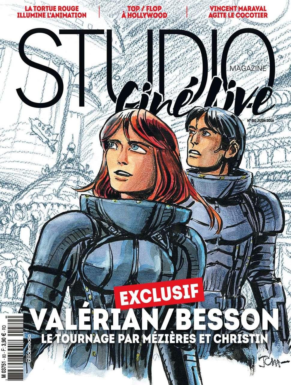 Studio Ciné Live 80 - Juin 2016