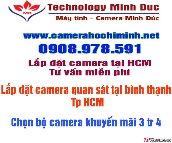 Lắp đặt camera thương hiệu Mỹ giá rẻ