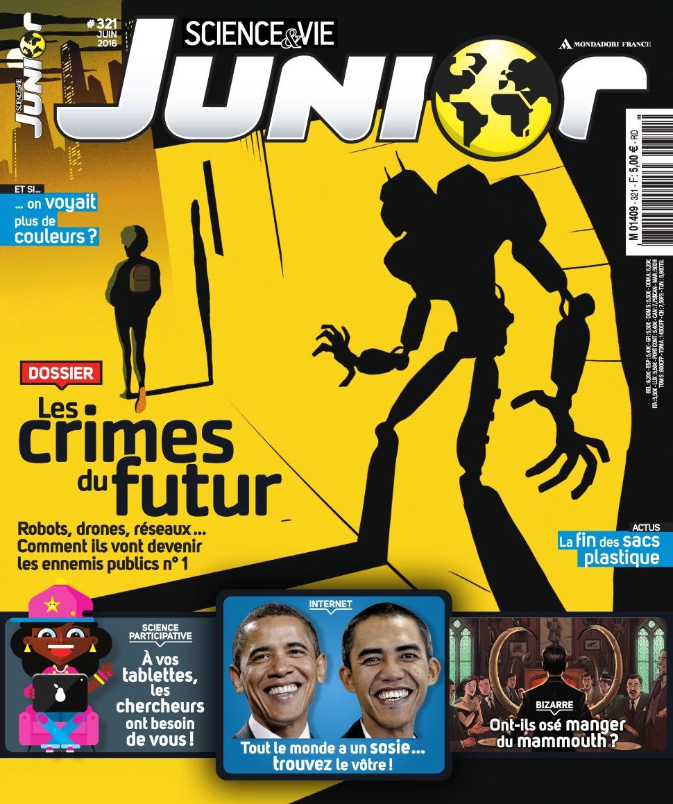 Science & Vie Junior 321 - Juin 2016