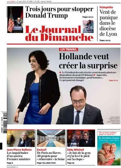 Le Journal du Dimanche - 13 Mars 2016