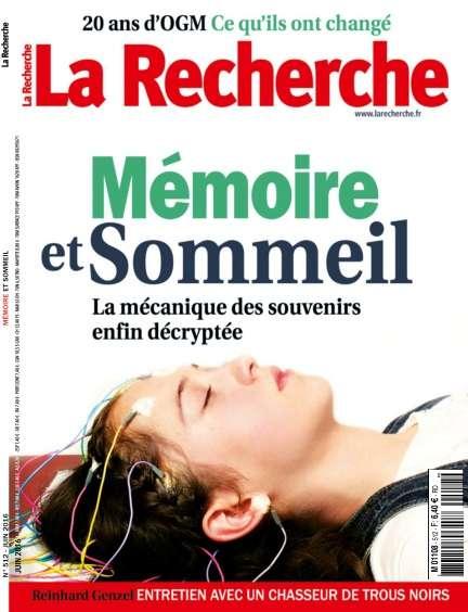 La Recherche 512 - Juin 2016