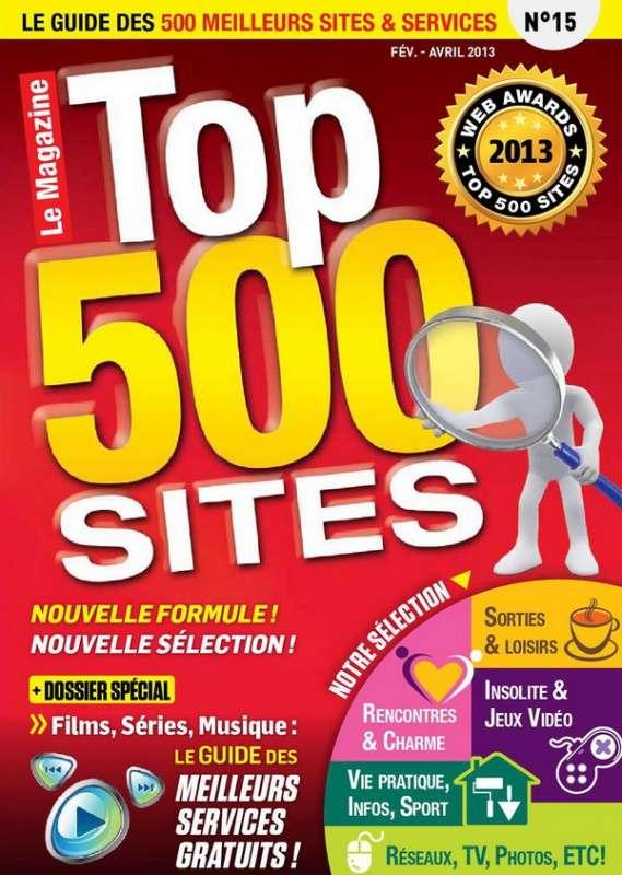 Top 500 Sites Internet 15 -le guide des 500 meilleurs site & services