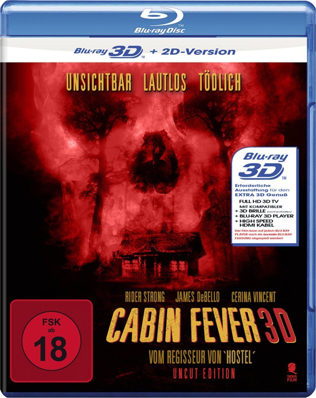 Cabin Fever (2002) ISO BDRA 3D 2D BluRay DD ITA DTS-HD ENG Sub - DDN