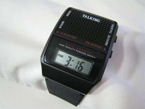 relógio talking