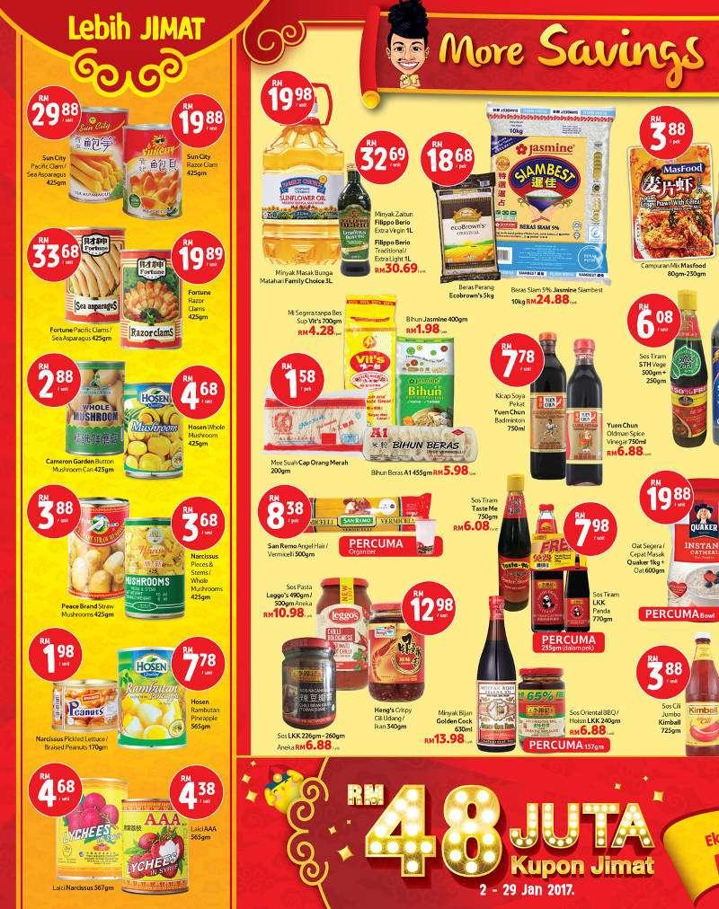Tesco Malaysia Weekly Catalogue (12 January 2017 - 18 January 2017)