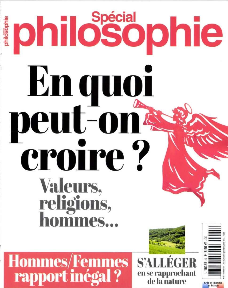 Spécial Philosophie 5 - Juillet/Septembre 2016