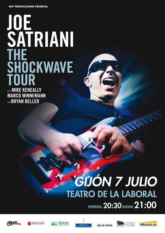 Joe Satriani cartel
