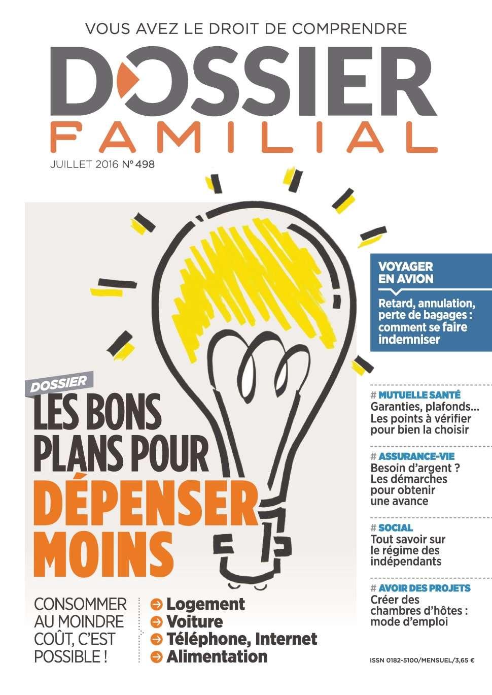Dossier Familial 498 - Juillet 2016