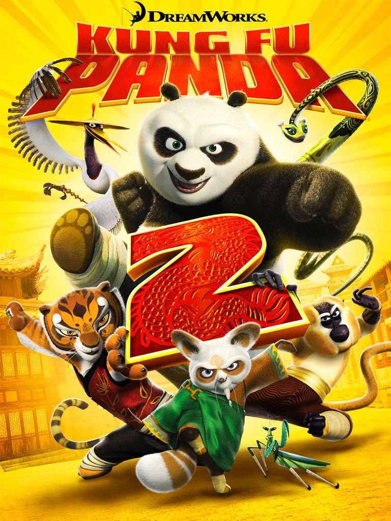Kung Fu Panda 2 (2011) DVD9 Copia 1:1 ITA/ENG