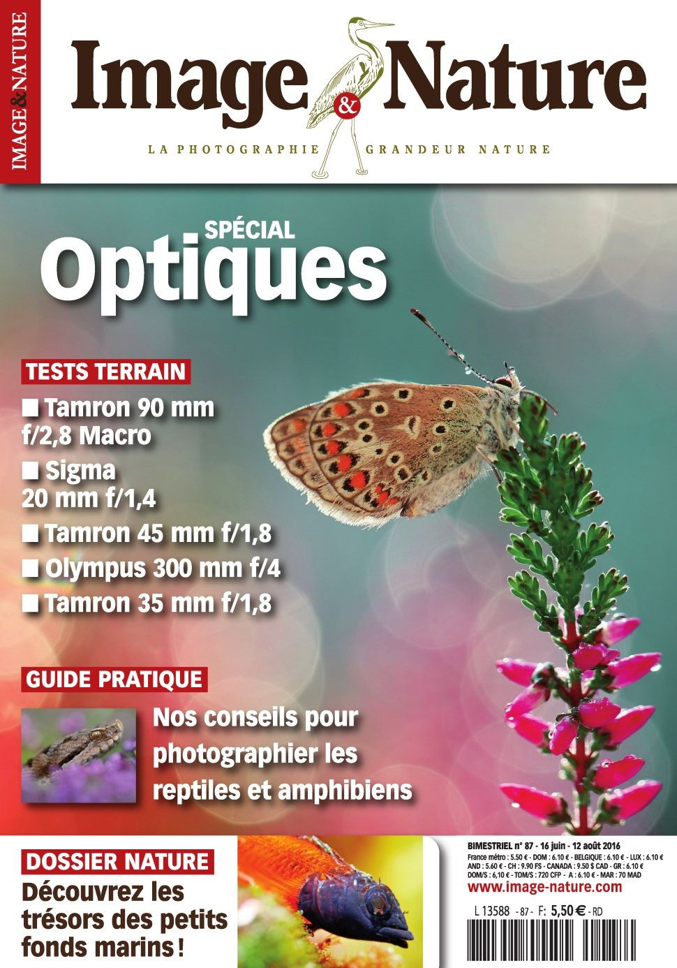 Image & Nature 87 - Juillet/Aout 2016