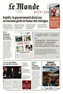 Le Monde du Samedi 27 Août 2016
