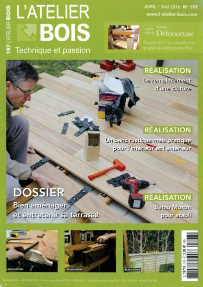 L'Atelier Bois 197 - Avril/Mai 2016