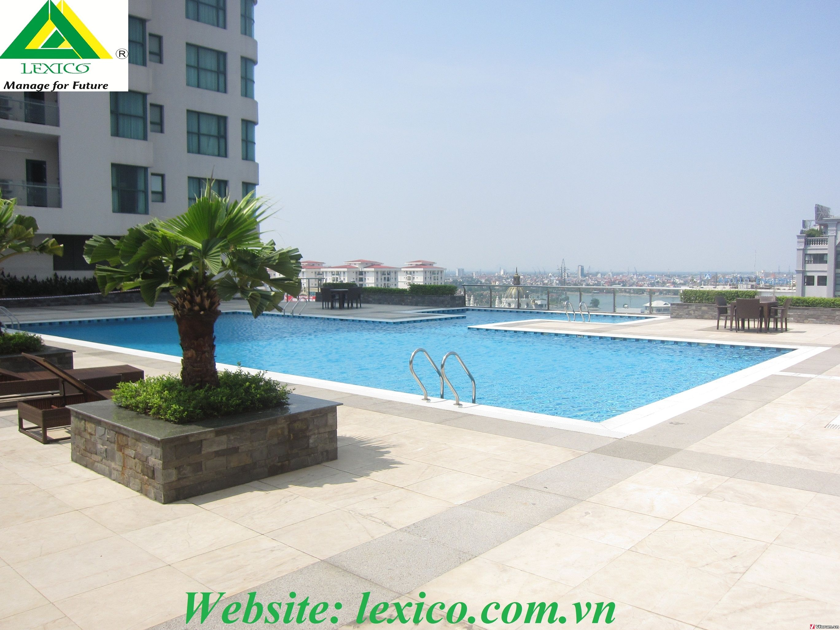www.123nhanh.com: Căn hộ cao cấp 155m2 với 2 phòng ngủ tại TD Plaza