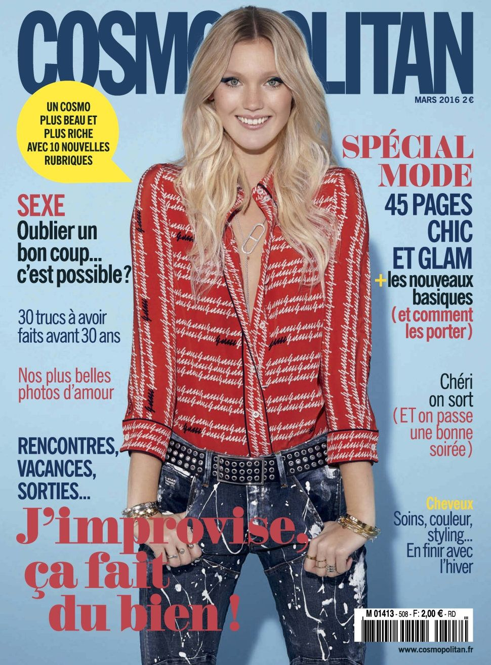 Cosmopolitan 508 - Mars 2016