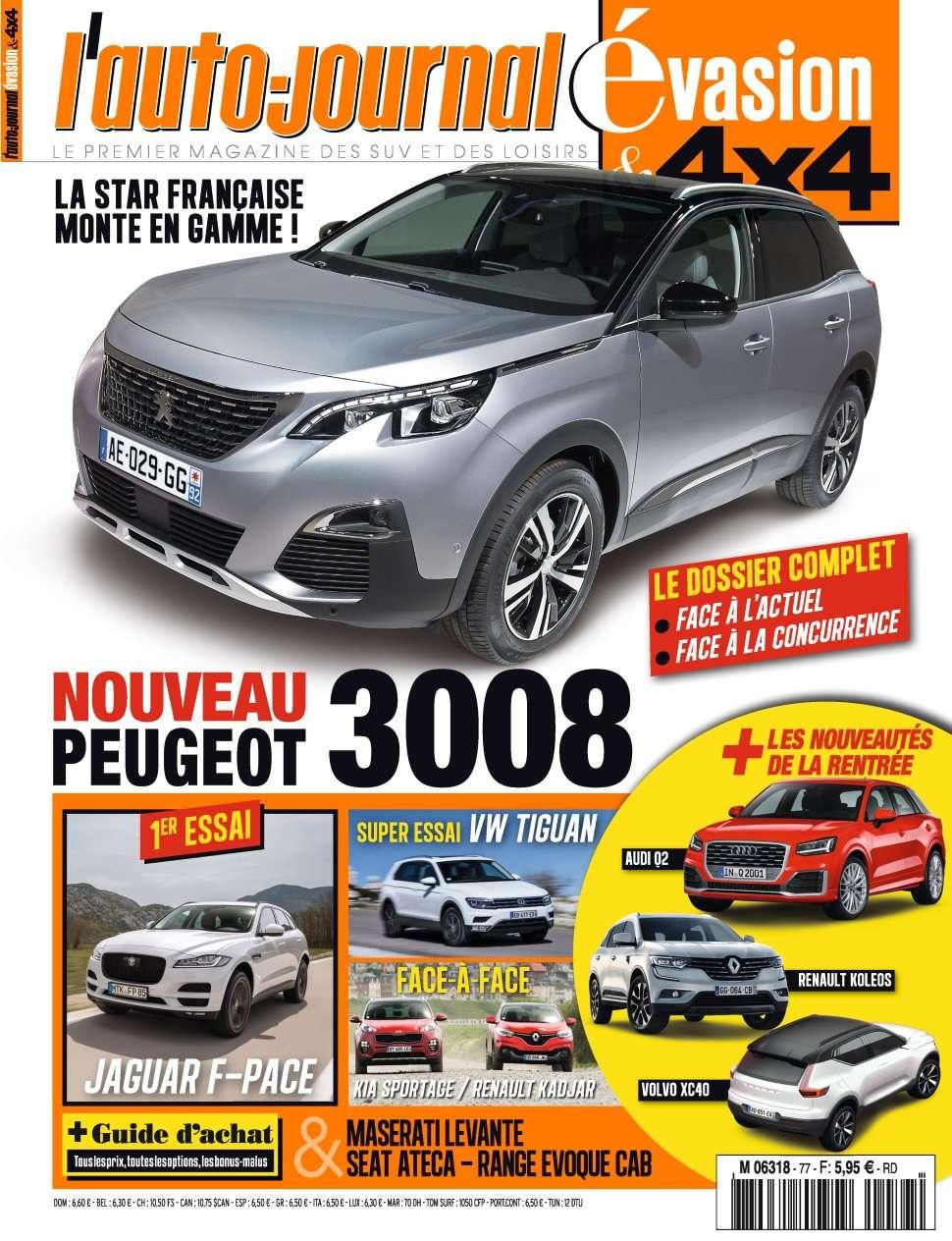 L'Auto-Journal 4x4 77 - Juin/Juillet/Aout 2016