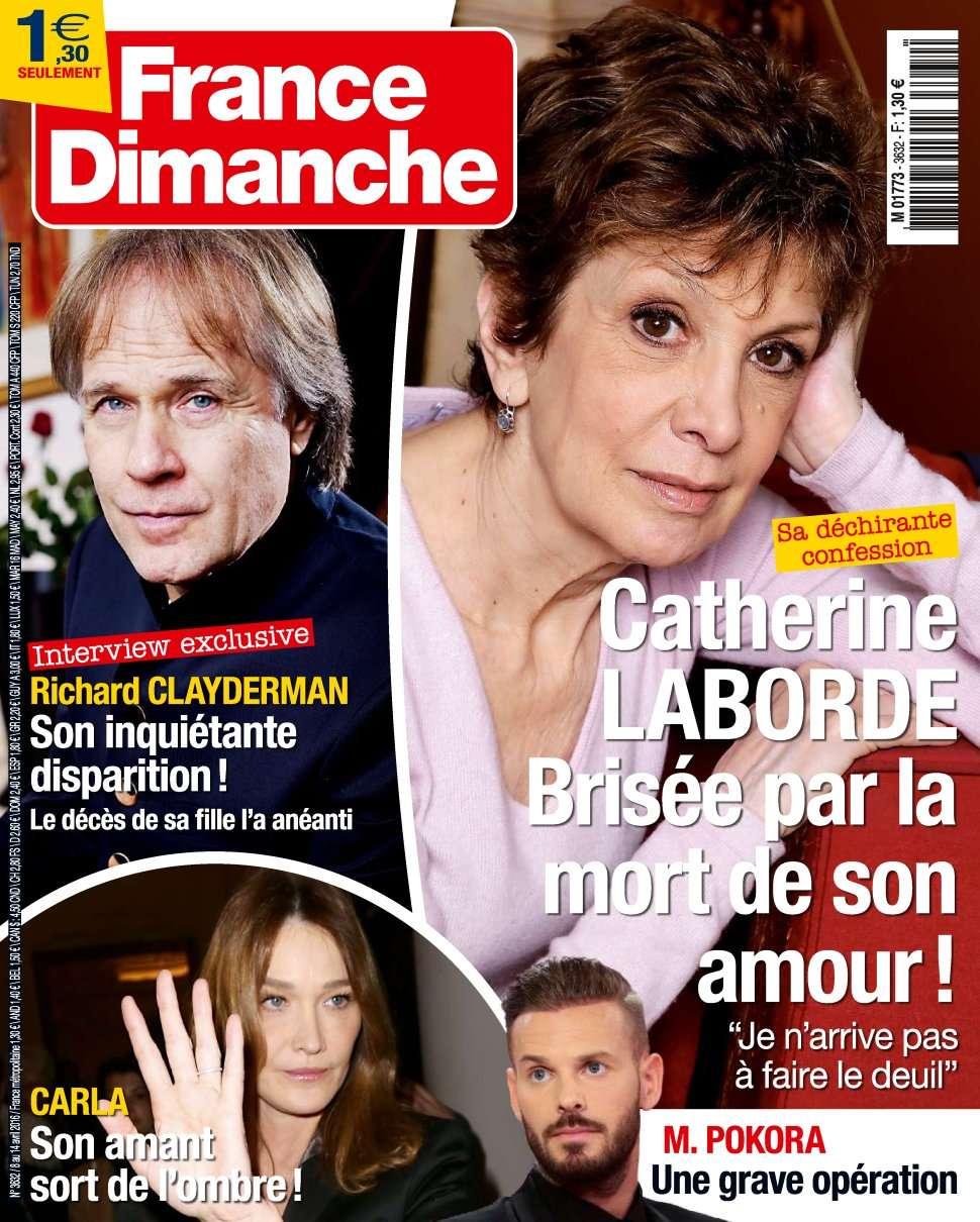 France Dimanche 3632 - 8 au 14 Avril 2016