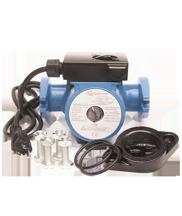 Bomba Recirculadora De Agua Caliente Aquapak Loop Ecomaqmx