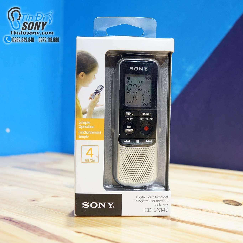 Máy ghi âm Sony ICD-BX140 (Like New)
