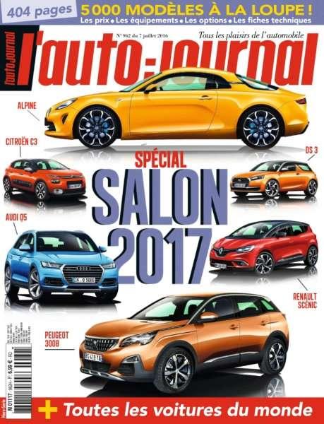 L'Auto-Journal 962 du 7 Juillet 2016