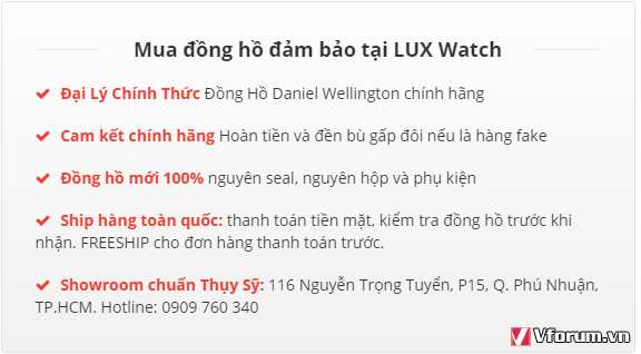 1 Dong Ho Daniel Wellington Model 1101DW Mau Vang Hong5737050