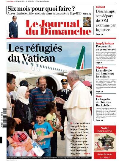 Le Journal du Dimanche - 18 Avril 2016