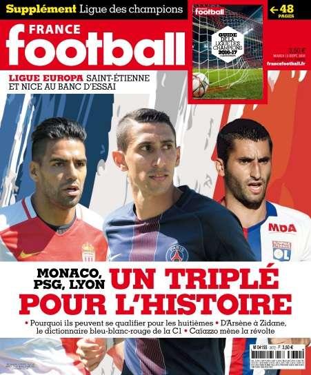 France Football - 13 Septembre 2016