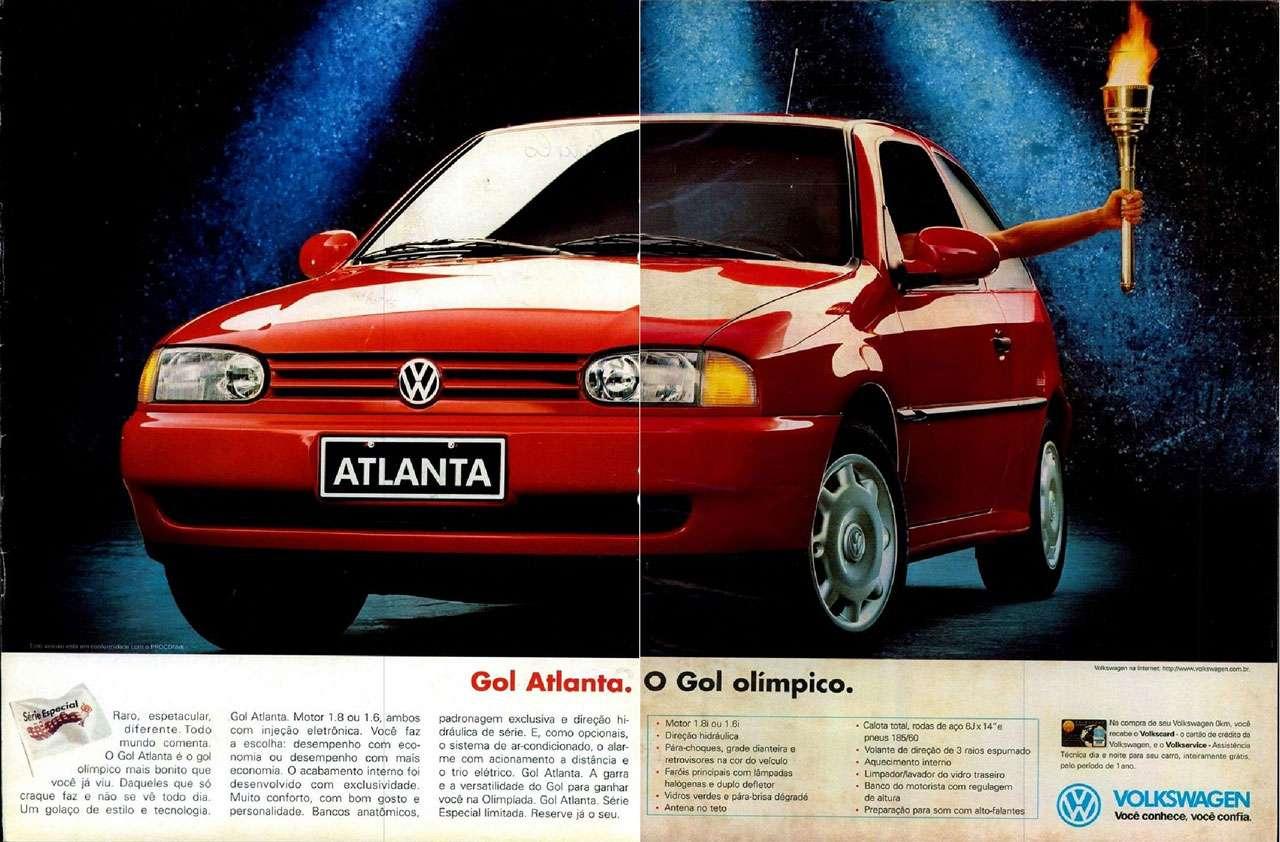Volkswagen Gol Atlanta. O Gol Olímpico.