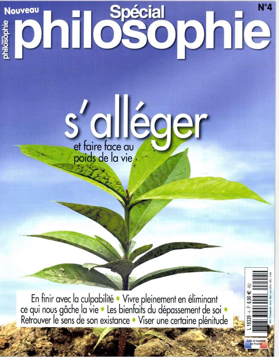 Spécial Philosophie 4 - Mai/Juin 2016