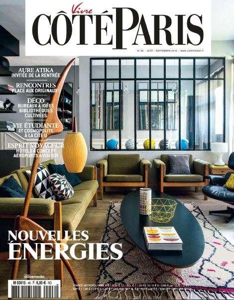 Vivre Côté Paris - Aout-Septembre 2016